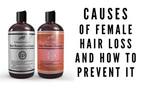 Causes of female hair loss and how to prevent it