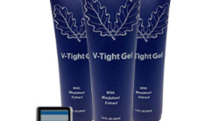 V tight gel lets you make your statement without uttering a word.